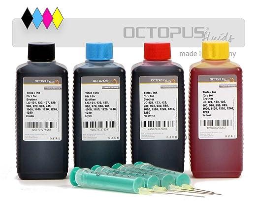Octopus 400 ml de Tinta para Recargar, Tinta De Impresora ...
