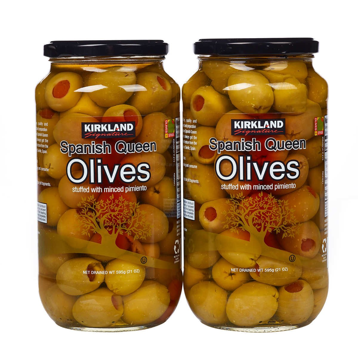Amazon.com : Roland Pitted Baby Kalamatas Olives, 4lbs 6oz ...
