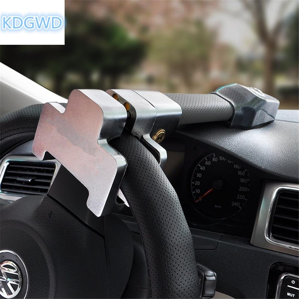 Car Anti Theft >> Steering Wheel Lock Car Anti Theft Lock T Lock Car Lock Beep