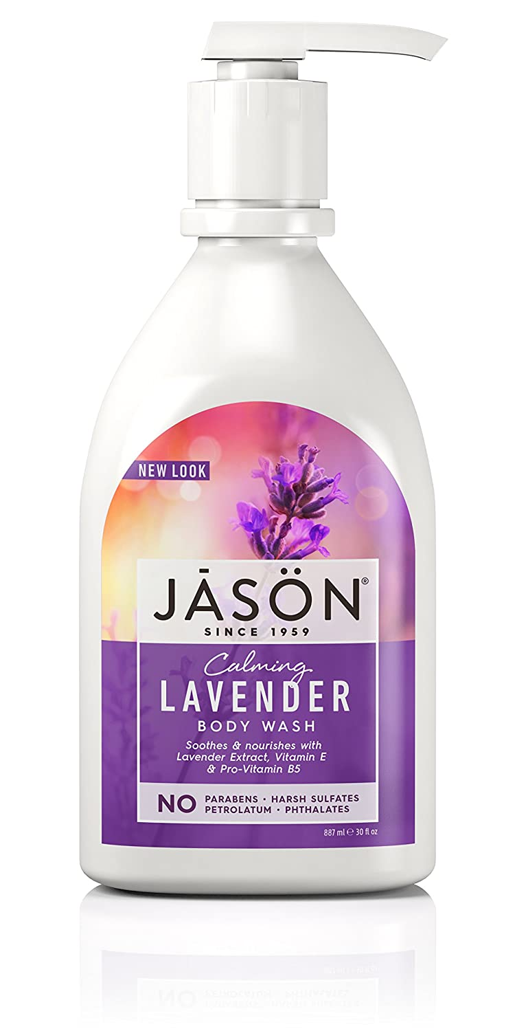 Jason Invigorating Rosewater Pure Natural Body Wash 30 Fluid Ounces Hain-Celestial thomaswi