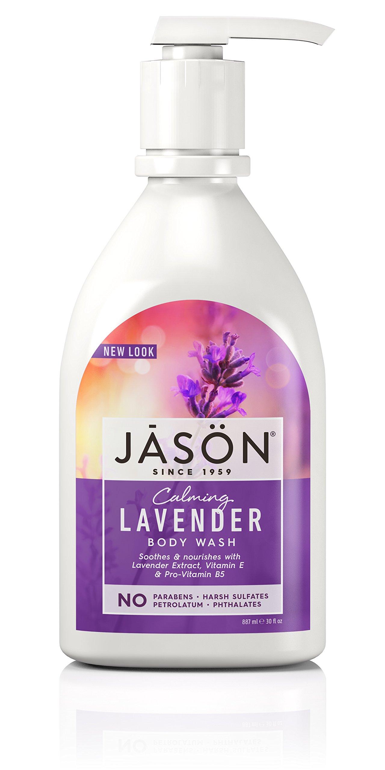 JASON Lavender Body Wash, 30 Oz (Packaging May Vary)