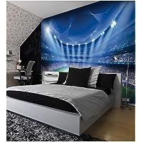 Voetbal Stadion Pitch Sport Muurschildering Foto Behang Kids Slaapkamer Decoratie 260cmx175cm