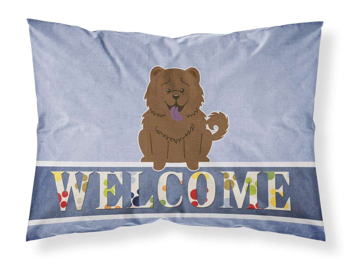 Carolines Treasures Merry Christmas Carolers Cocker Spaniel Black Tan Fabric Standard Pillowcase BB2424PILLOWCASE,