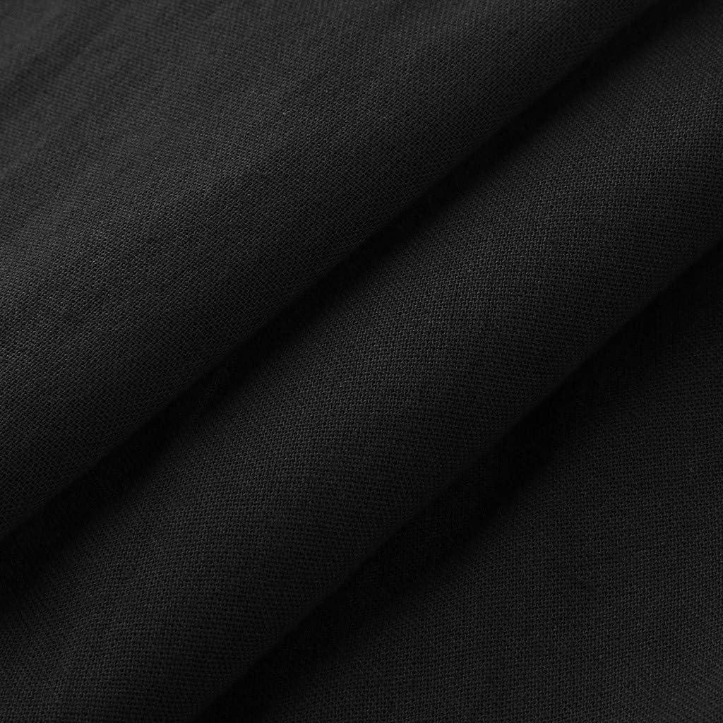 Beikoard New Looks Womens Jumpsuit Womens Casual Solid Sleeveless V-Neck Belt Slim Plus Size Linen Long Jumpsuit