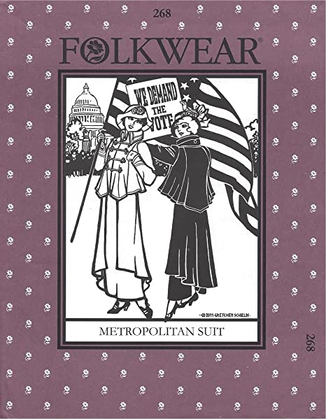 Amazon.com: Folkwear 268 Metropolitan traje patrón de ...