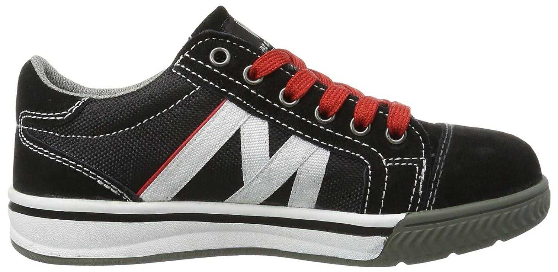 Maxguard SKINNER 900234 - Zapatos de protección de tela para unisex-adultos, color negro, talla 39