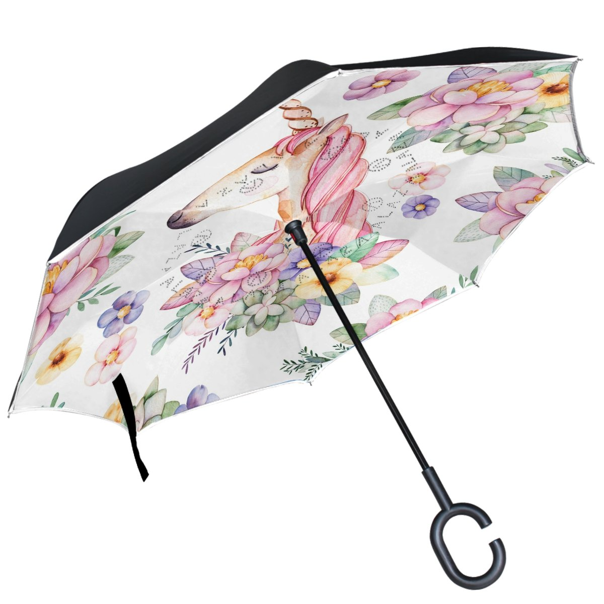 Custom Crosses Compact Travel Windproof Rainproof Foldable Umbrella