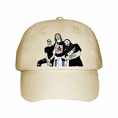 ada3c27670cda Babes   Gents Flatbush Zombies Cap Hat (Unisex) (Khaki) at Amazon ...
