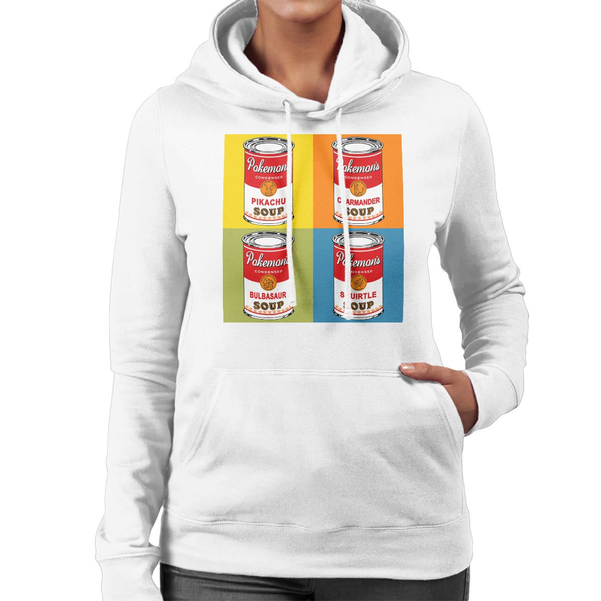 Pokemon Pop Soup Cans Womens Hooded Sweatshirt: Amazon.es: Ropa y accesorios