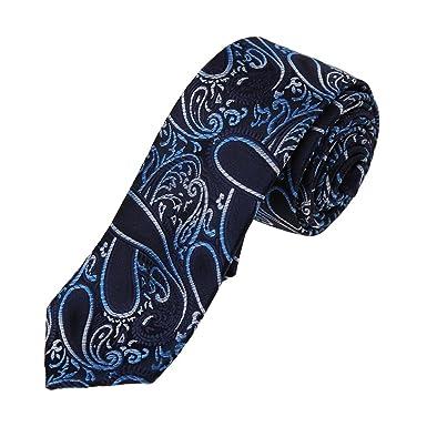 Dan Smith - Corbata - Paisley - para hombre Azul DAE7B02F-Midnight ...