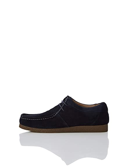 Marca Amazon - find. Zapato de Ante estilo Wallabee Hombre