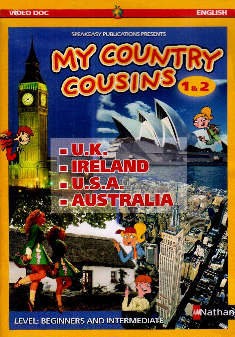 Amazon Com Pack Dvd Posters My Country Cousins 1 2 Livre
