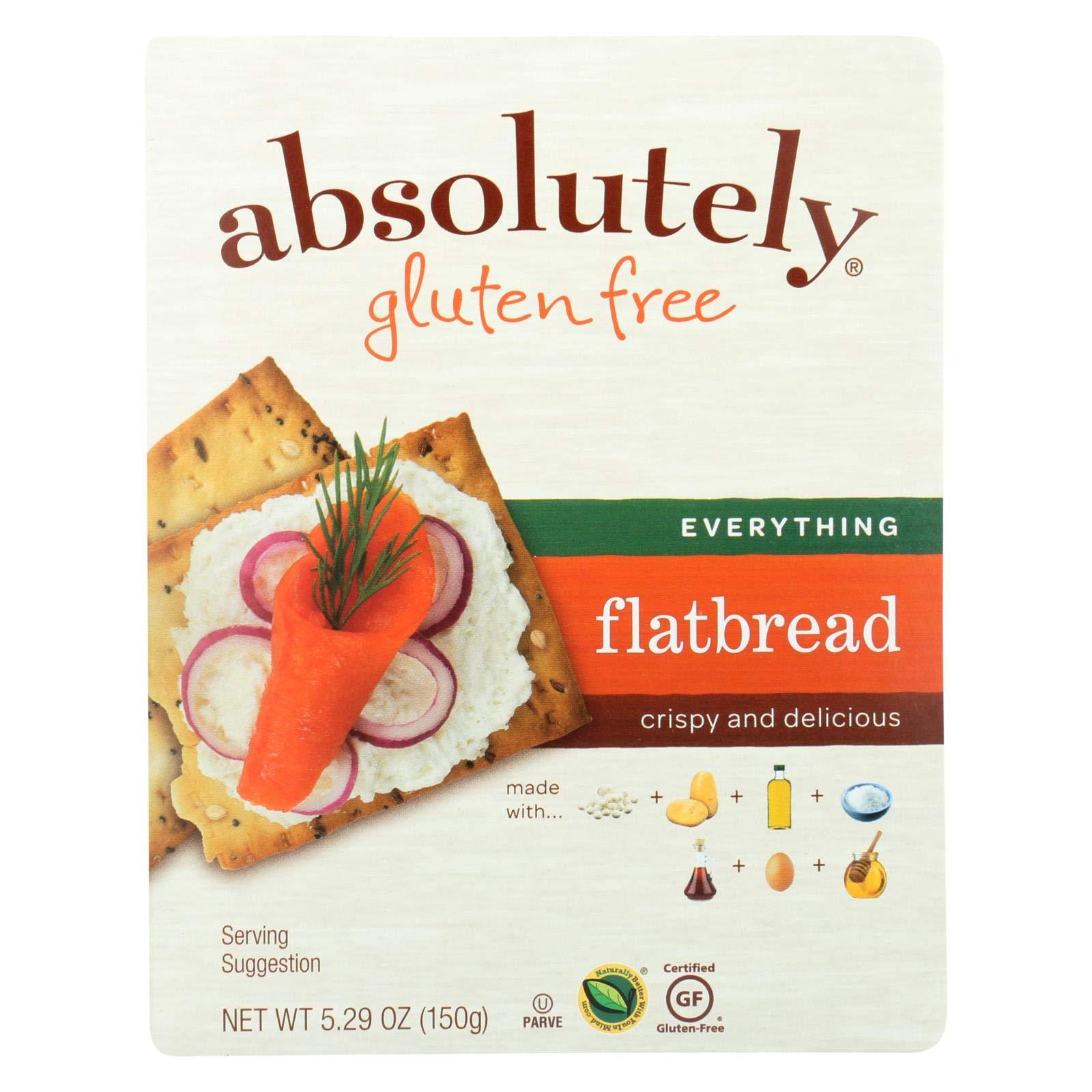 Absolutely Gluten Free Flatbread - Original - Case of 12 - 5.29 oz.