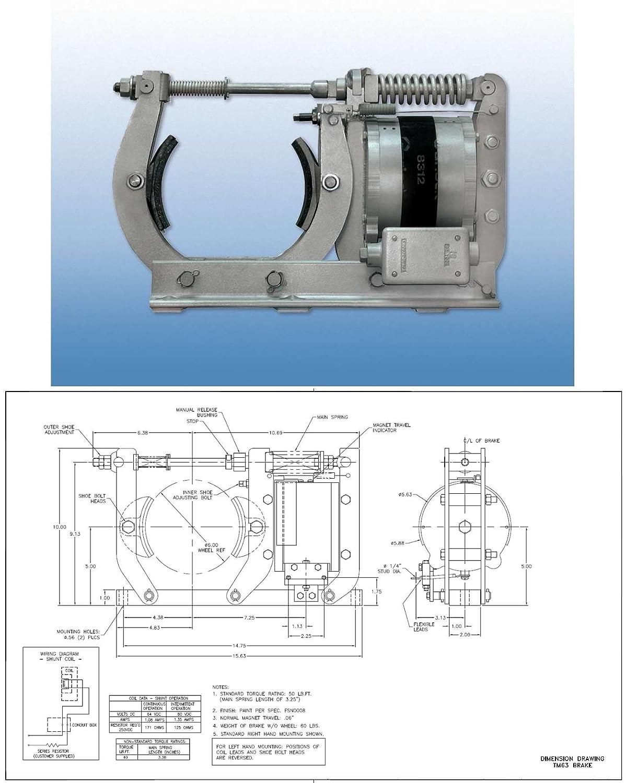 Ametek Gemco Main Spring that sets the brake For a TM-83 DC Brake 8 Inch Item 3 E008039