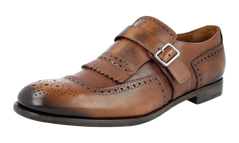 Prada Mans 2OF001 Fulla Brogue läder läder läder Business skor  välkommen att köpa