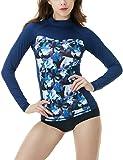 TSLA Women's UPF 50+ Slim-Fit Long Sleeve