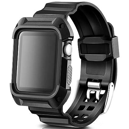 Amazon.com: Casual accesorios banda de Apple Watch 38, 42 mm ...