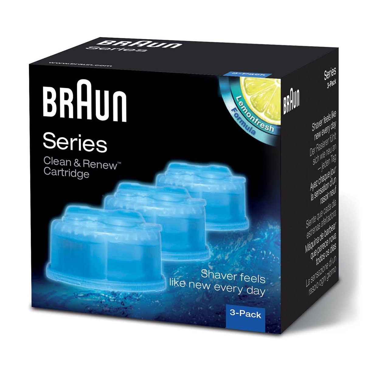 Braun Clean and Renew 3 Pack PROCTER & GAMBLE CONSUMER 382355 B0021GGEE2