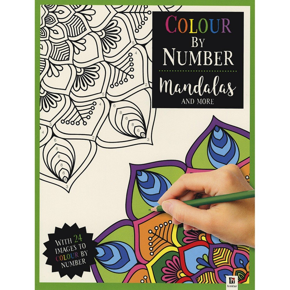 Read Online Colour by Number: Mandalas and More (Get Creative) PDF
