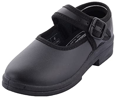 Girls Rubber School Shoes-10 at Amazon