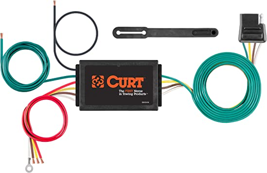Amazon.com: CURT 56146 Powered 3-to-2-Wire Splice-in Trailer Tail Light  Converter, 4-Pin Wiring Harness: AutomotiveAmazon.com