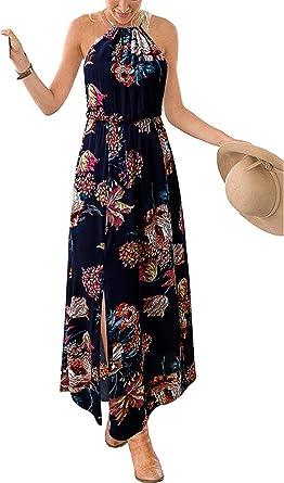 b756dbf8d6c9 Women's Party Dress, Womens Cold Shoulder Back V Adjustable Strap Elegant  Stretch High Waist Side
