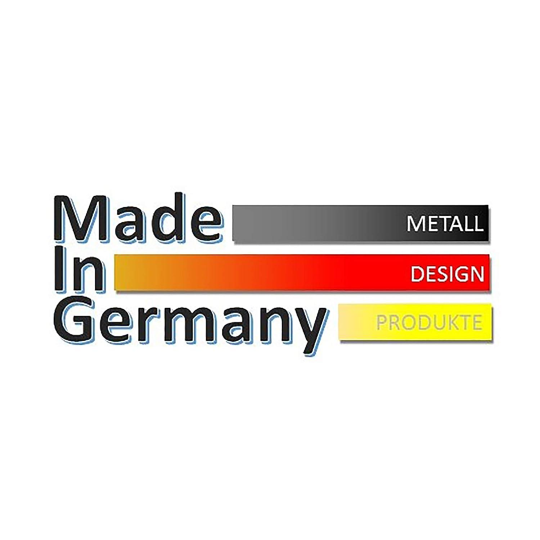 Badheizk/örper Design Leaves 2 Made in Germany//Bad und Wohnraum-Heizk/örper metallic 50mm Mittelanschluss + Handtuchhalter wei/ß//moonstone-grau 799 Watt Marke: Szagato HxB: 120 x 47 cm