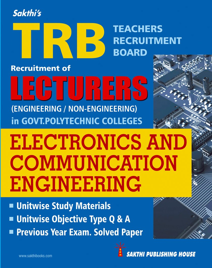 Buy Trb Lecturers Electronics And Communication Engineering Govt Electronic Circuit By Jb Gupta Polytechnic Colleges Book Online At Low Prices In India