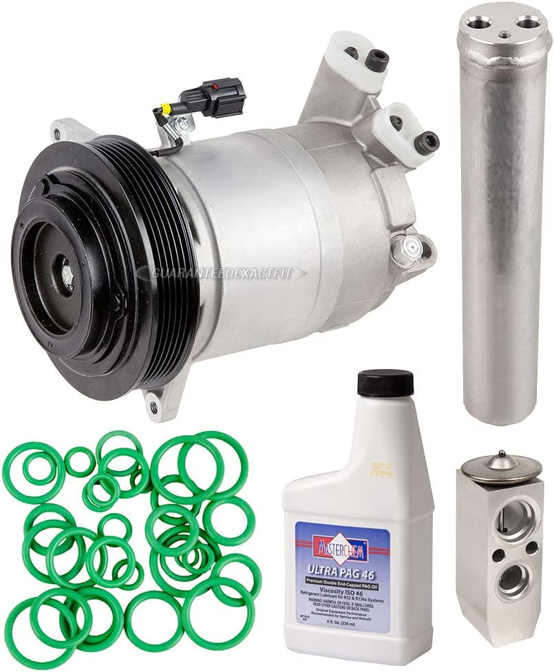 AC Compressor /& A//C Repair Kit For Nissan Altima 2007 2008 2009 2010 2011 2012 BuyAutoParts 60-81776RK NEW