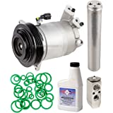 New AC Compressor & Clutch With Complete A/C Repair Kit For Nissan Altima Maxima - BuyAutoParts 60-81131RK New
