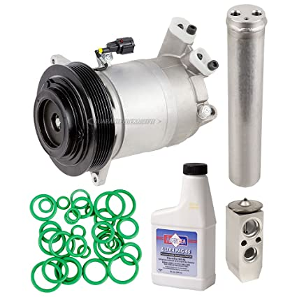 AC Compressor w/A/C Repair Kit For Nissan Altima V6 & Maxima - BuyAutoParts  60-81131RK New
