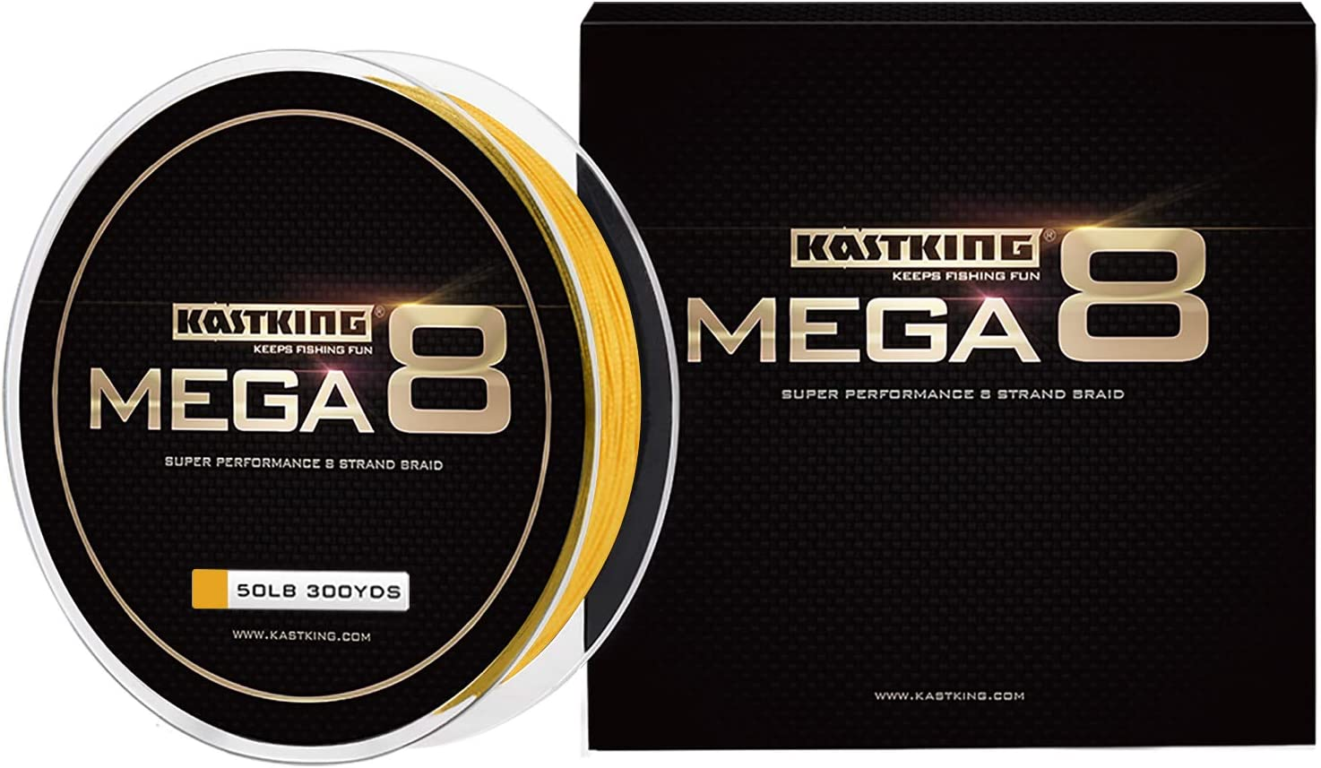 KastKing Mega 8 Braided Fishing Line
