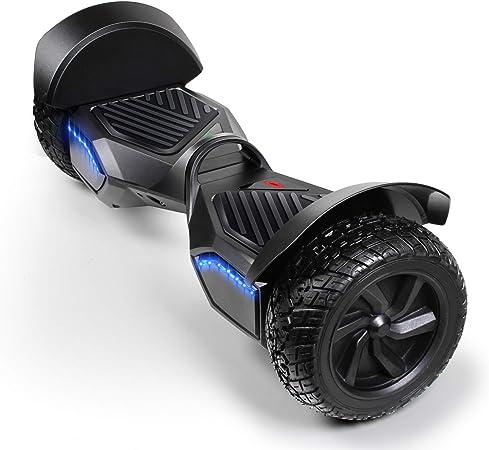 Amazon.com: SISISIGAD tabla de hoverboard todoterreno, con ...