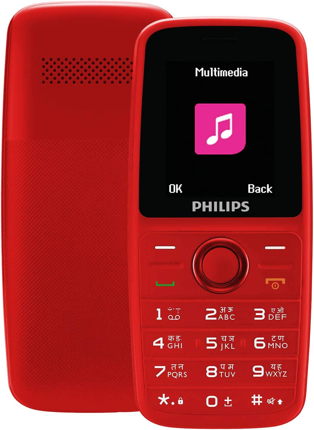 Philips Xenium E108 Dual SIM Mobile Phone