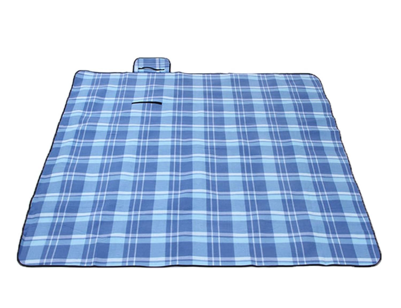 bleuLattice  Aluminium Mat De Pique-nique En Humidité De La Tente Extérieure 150  200cm,DreamCouleurGrid