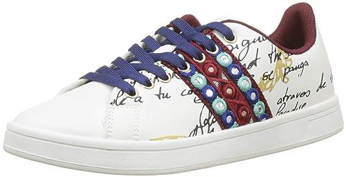 Basse exotic cosmic Shoes Scarpe Da Lettering Desigual Ginnastica EqwxBd0x5