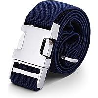 AWAYTR Cinturón para niños pequeños Estiramiento ajustable elástico para cinturones para niñas con hebilla fácil de…