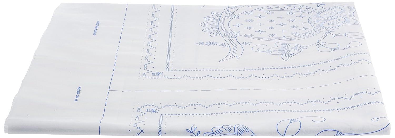 Bucilla Stamped Quilt Blocks, 46083 Owl Plaid Inc dimensions needlecrafts tobin stitchery nostalgic