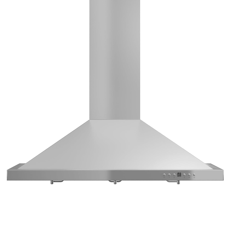 Amazon com z line kb 36 stainless steel wall mount range hood 36 inch appliances