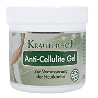 Anti-Cellulite Gel - Innovative complex with thermo-active action that attacks cellulite! 250ml by Krauterhof
