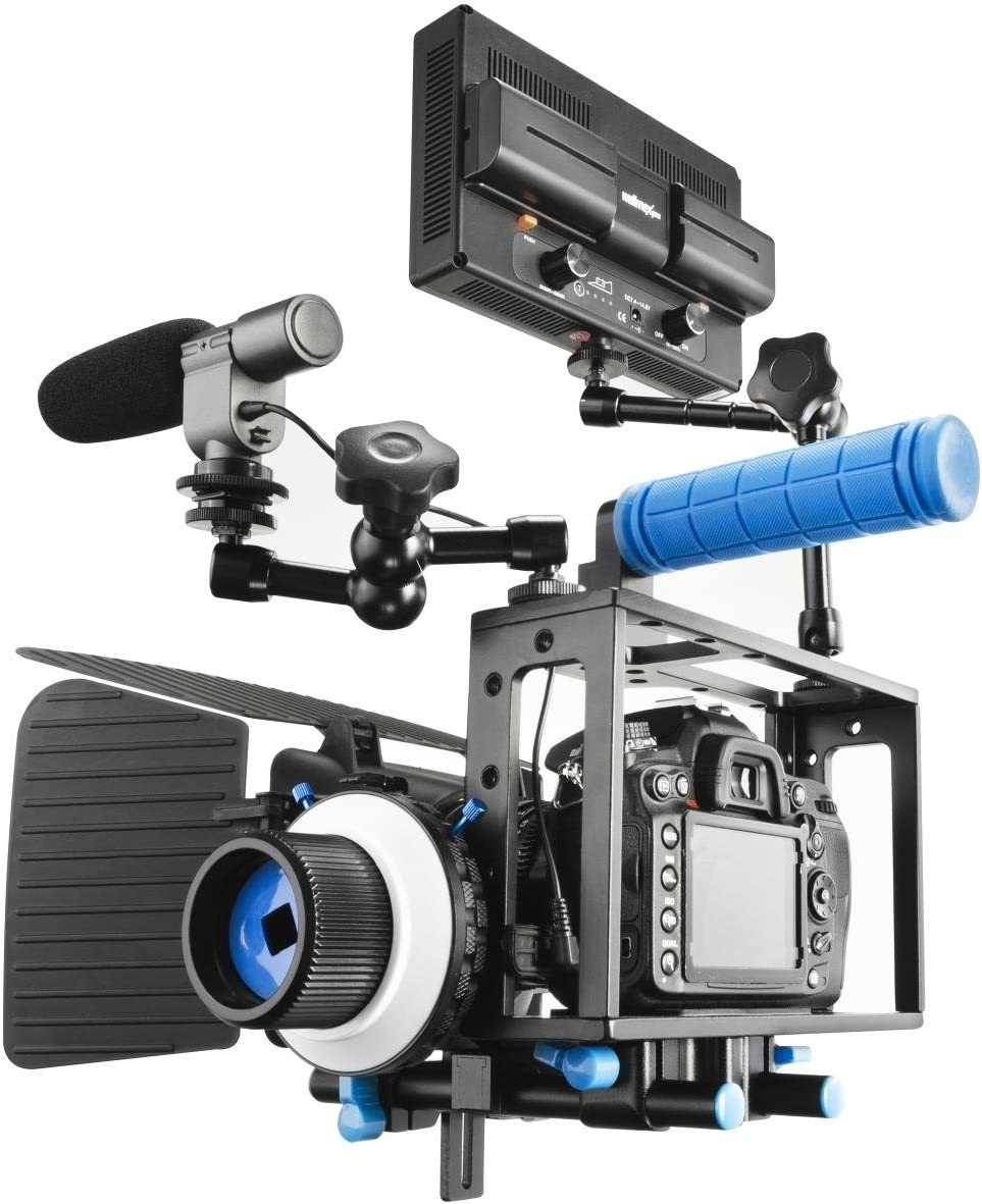 Walimex Pro Video Kamerakäfig Für Canon Eos 5d Mark Ii Kamera