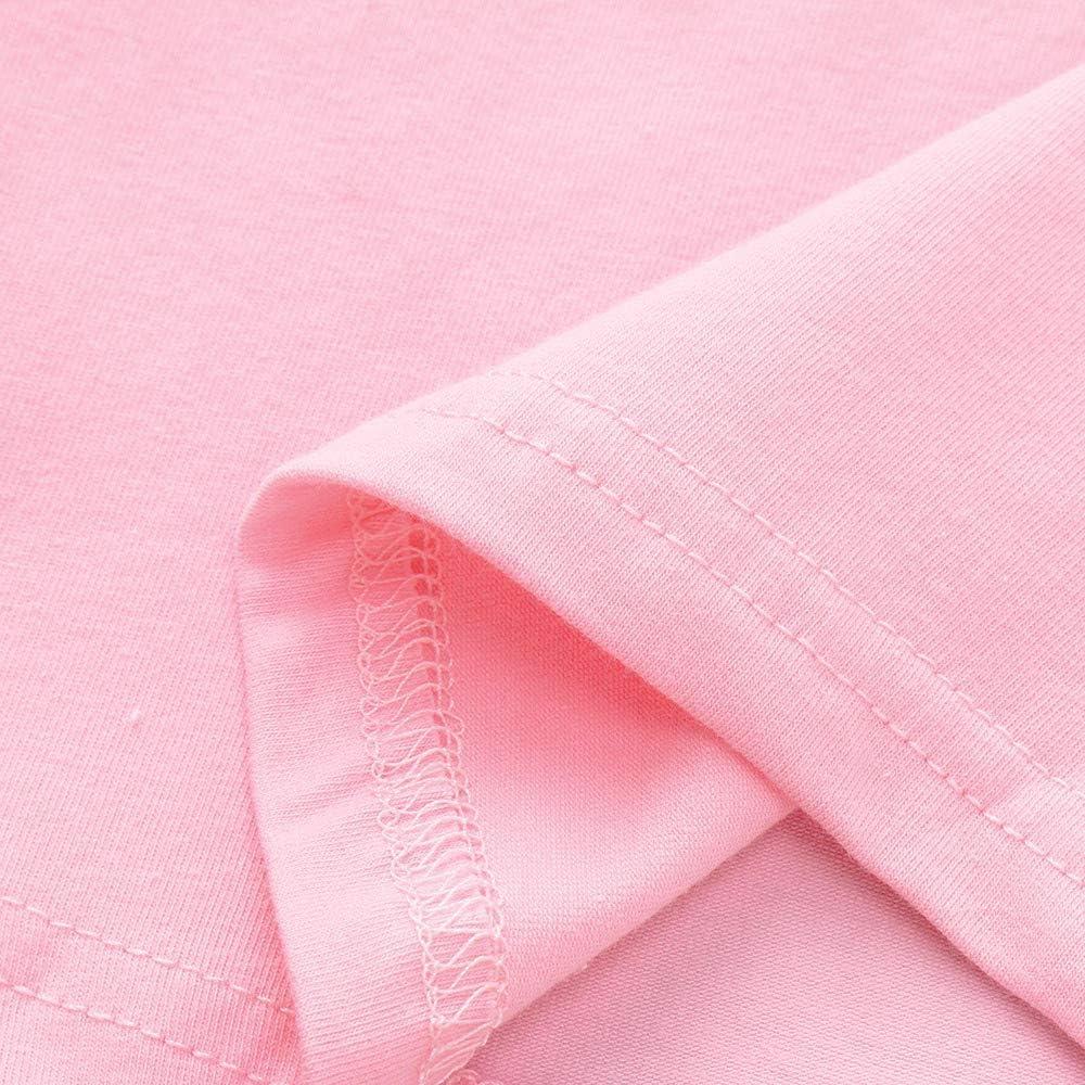 Ensembles de B/éb/é ❤️Robemon Nouveau-n/é Toddler Enfant B/éb/é Filles Letter Print Tops Geometric Pantalons Outfits Ensembles de Fille