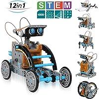 14 in 1 Lernbausatz Robotik und Solar DIY Bausatz Lernspielzeug Kinder