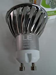 le 4w gu10 mr16 dimmbar led lampen ersatz f r 35w halogenlampen 210lm warmwei 3000k 45. Black Bedroom Furniture Sets. Home Design Ideas