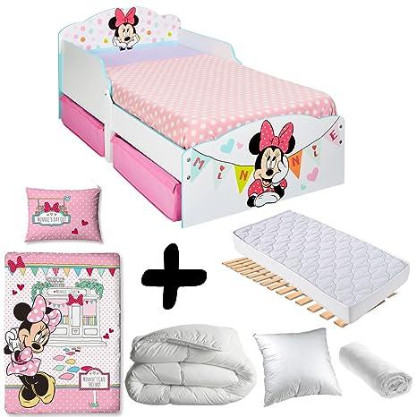 nuovo stile di vendita calda reale diversificato nella confezione BEBEGAVROCHE Pack Completo Premium Letto Minnie cassetti ...
