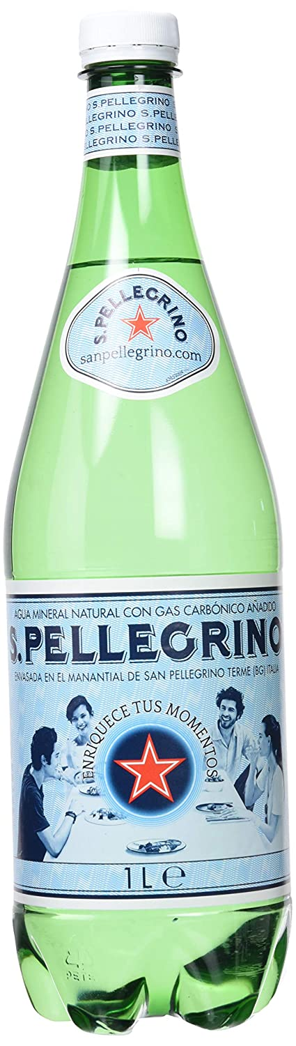 S.Pellegrino Agua Mineral Natural con Gas - 6 Botellas: Amazon.es: Amazon Pantry
