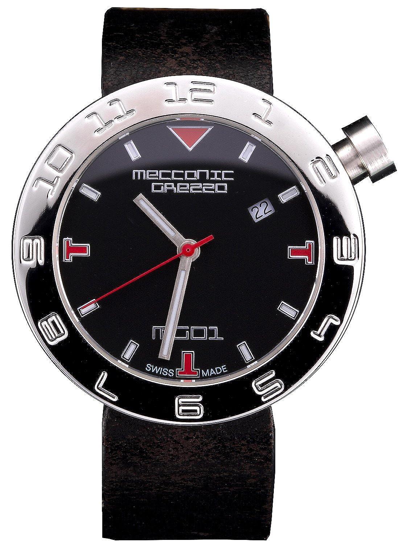 [メカニカグレッザ] MECCANICA GREZZA MG01 38L BK-BK ブラック イタリアンデザイン レディース腕時計 [正規輸入品] [時計] B073WZBMDG