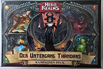 Hero Realms Der Untergang Thandars Kampagnen Deck Deutsch