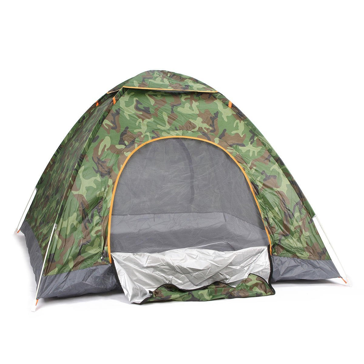 Automated Wide Sunblind - Outdoor Person Camping Tent Automatic Waterproof Beach Sunshade Canopy - Self-Activating Artless Visible Self-Moving Unprotected Blazing Self-Loading - 1PCs