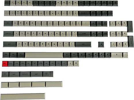 Mars Colony XDA Profile PBT 121 165 teclas tinte sublimado, teclado sublimado, adecuado para interruptores ANSI MX teclado mecánico (Mars Colony 165 ...